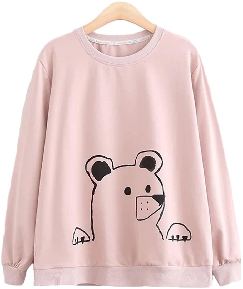 Aza Boutique Girl's Cute 2018 New Style Polar Bear Print Sweatshirt