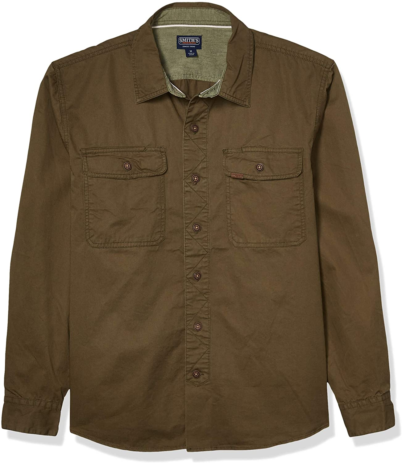 Smith's Workwear Men's Cotton Twill Wovens Shirt