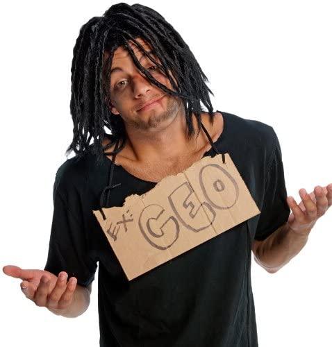 Rubies Humor Down N Out Adult Costume Wig