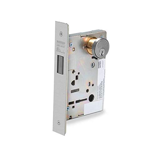 Sargent BP-8204 26D Mortise Lock, 9.25