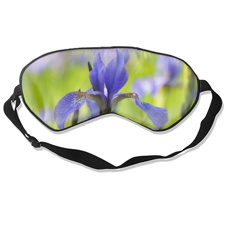 Iris Sleep Eye Mask for Sleeping Contoured Eyemask Silk Best Night Blinder Eyeshade for Men Women Kids