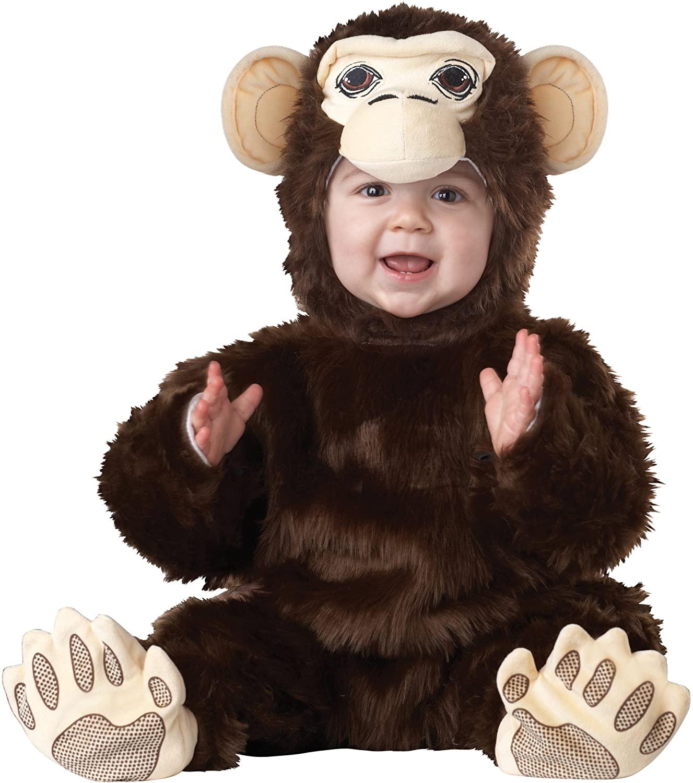 California Costumes Chimpanzee Infant Jumpsuit Costume