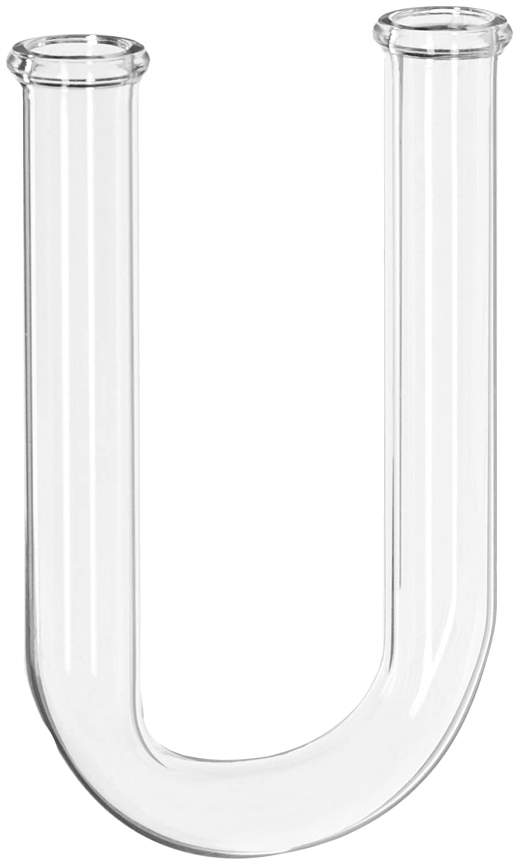 GSC International 402-1 Borosilicate Glass Drying Tube, U-Shaped, 100 mm