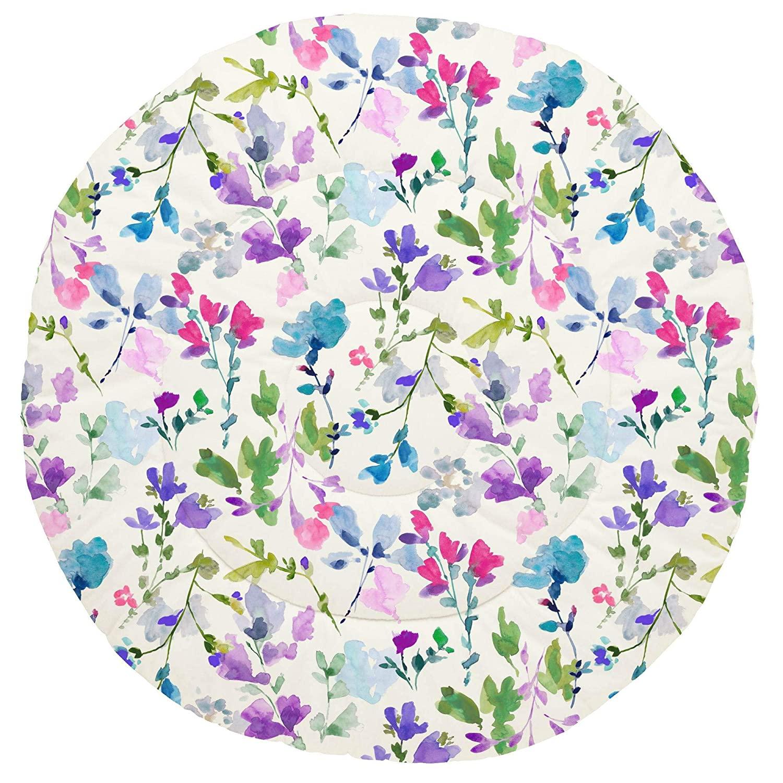 Carousel Designs Bright Wildflower Baby Play Mat