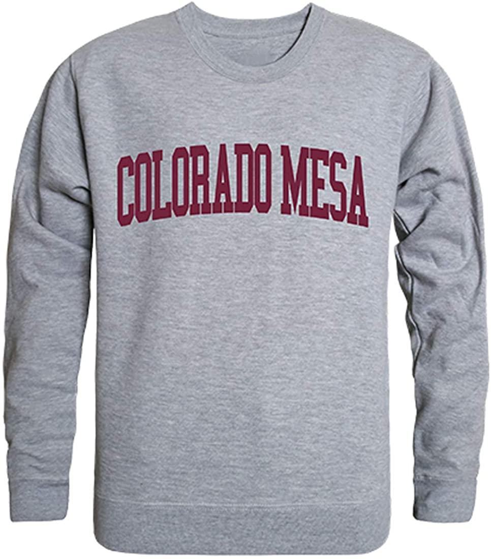 W Republic Colorado Mesa University Mavericks NCAA Men's Game Day Crewneck Fleece Sweatshirt
