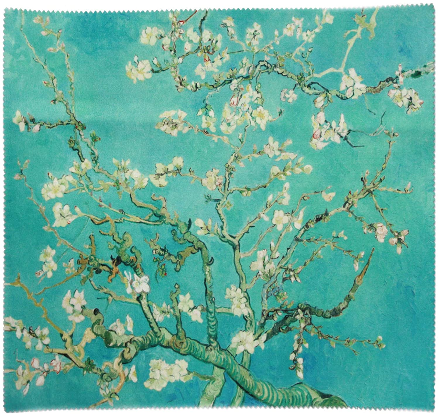 Vincent Van Gogh Oil Painting Large Microfiber Cleaning Cloth 11x9 (Almond Blossoms)