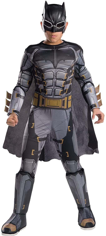 Rubie's Costume Boys Justice League Deluxe Tactical Batman Costume, Medium, Multicolor