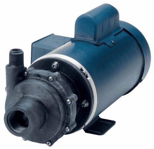 Finish Thompson DB15P-B-7-94 Seal Less Magnetic Drive PP Centrifugal Pump Head; 483.3 LPM/25 m