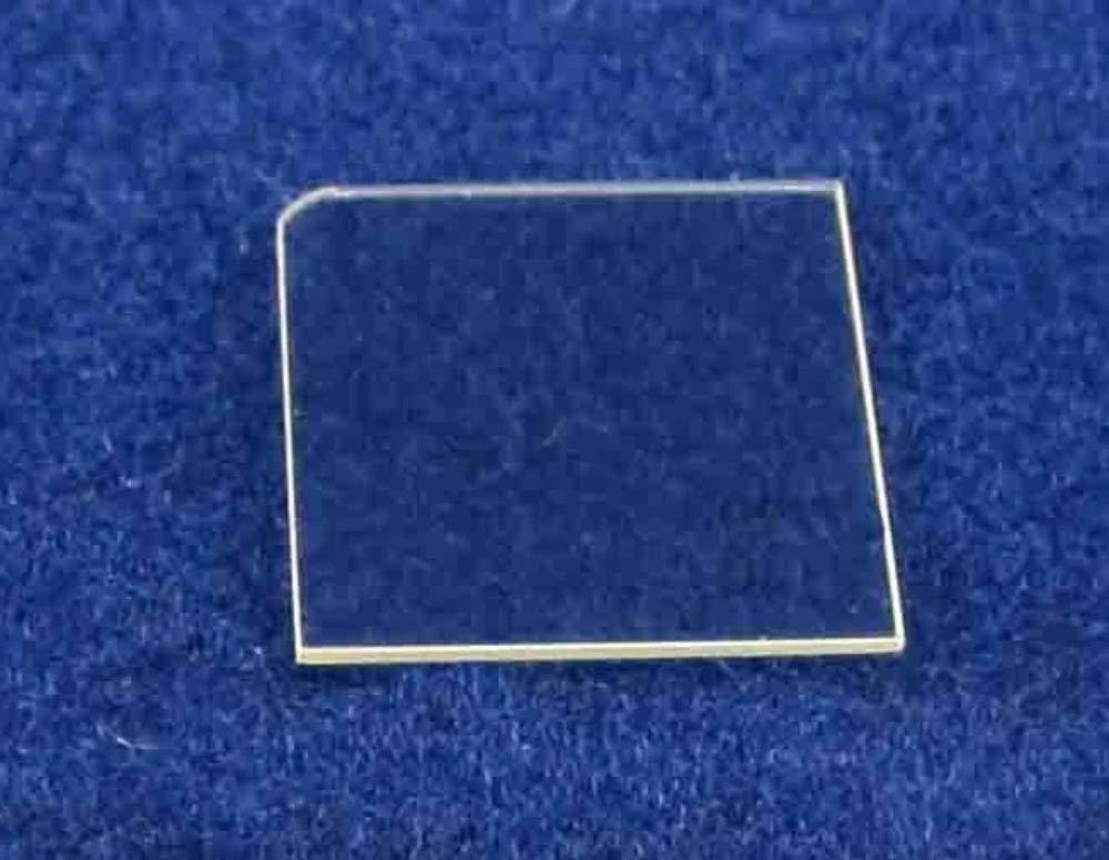 10 mm x 10.5 mm Fe-Doped Semi-Insulating Gallium Nitride Single Crystal C Plane (0001)