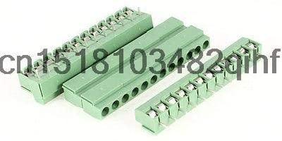 Davitu Terminals - 5 Pcs 4.5mm Pitch 12P Male PCB Mount Screw Terminal Block Connector