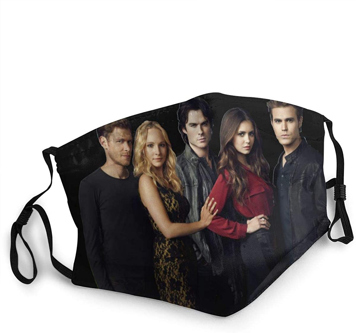 The Vampire Diaries Washable Reusable Unisex Breathable Adult Dust Face Mouth Cloth Balaclava (Multiple Outfits)