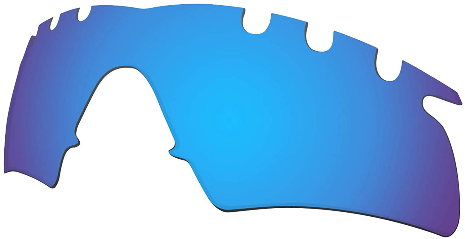 Lenses Replacement for Oakley M Frame Hybrid Vented Sunglass Polarized - Blue Mirror