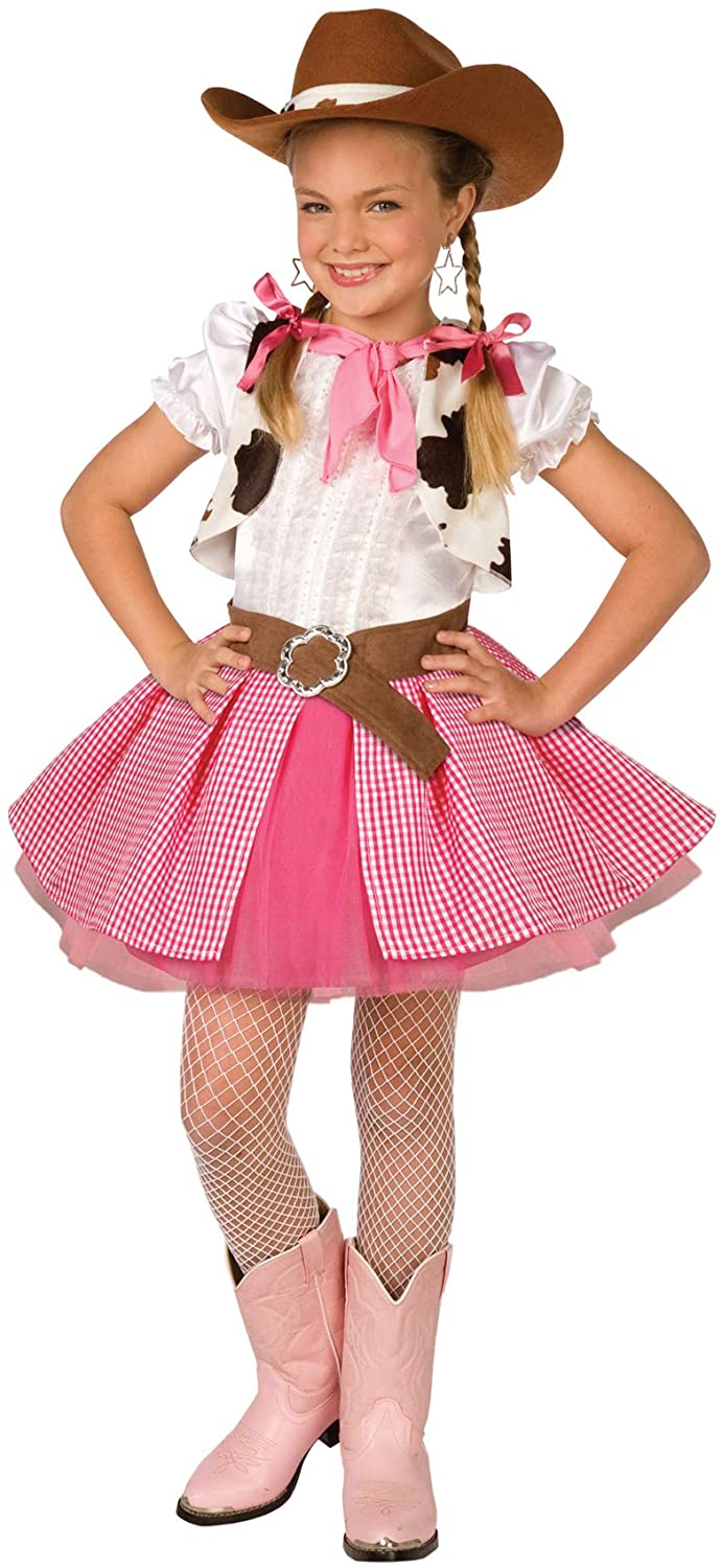 Morris Costumes Cowgirl Cutie Child Lrge 12-14