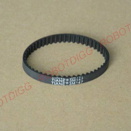 Ochoos HTD 3M, Timing Belt, Closed-Loop, 147mm Length, 49 Teeth, 6mm Width - (Number of Pcs: 10pcs)