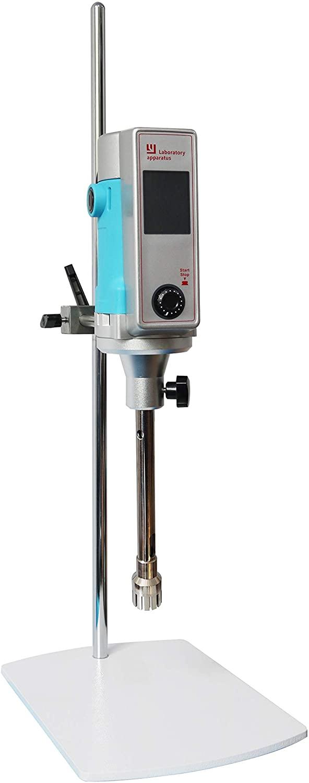 MXBAOHENG LYD500W-T High Shear Mixer Emulsifier Disperser Lab Homogenizer Emulsifying Machine 100~8000ml Operating Head 30G 6000mPa.s (110V)