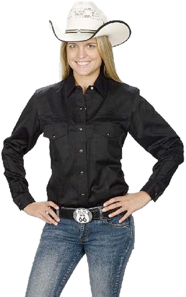 Sunrise Outlet Women's Button Down Cotton Western Cowboy Shirt