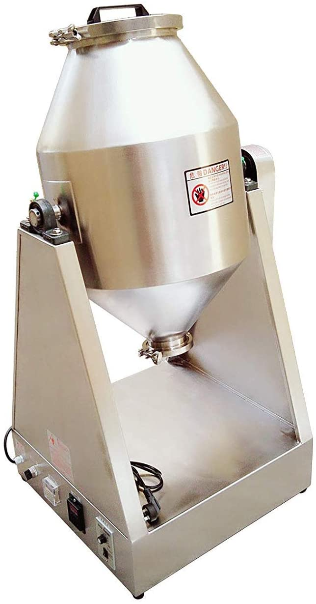 MXBAOHENG YG-20KG Dry Powder Mixer Particle Blender Powder Mixing Machine (220V)