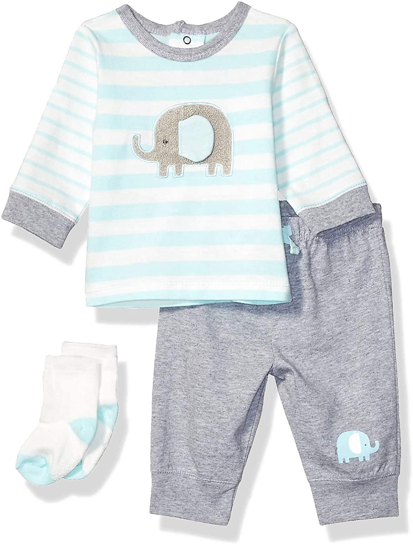 Little Me Baby Boy's Jogger Set Pants