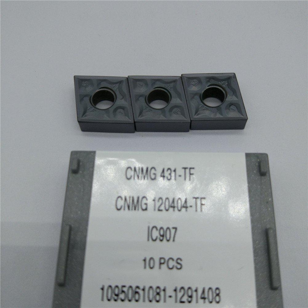 GBJ-1 CNMG 431-TF IC907 CNMG120404-TF IC907 Carbird Inserts 10pcs