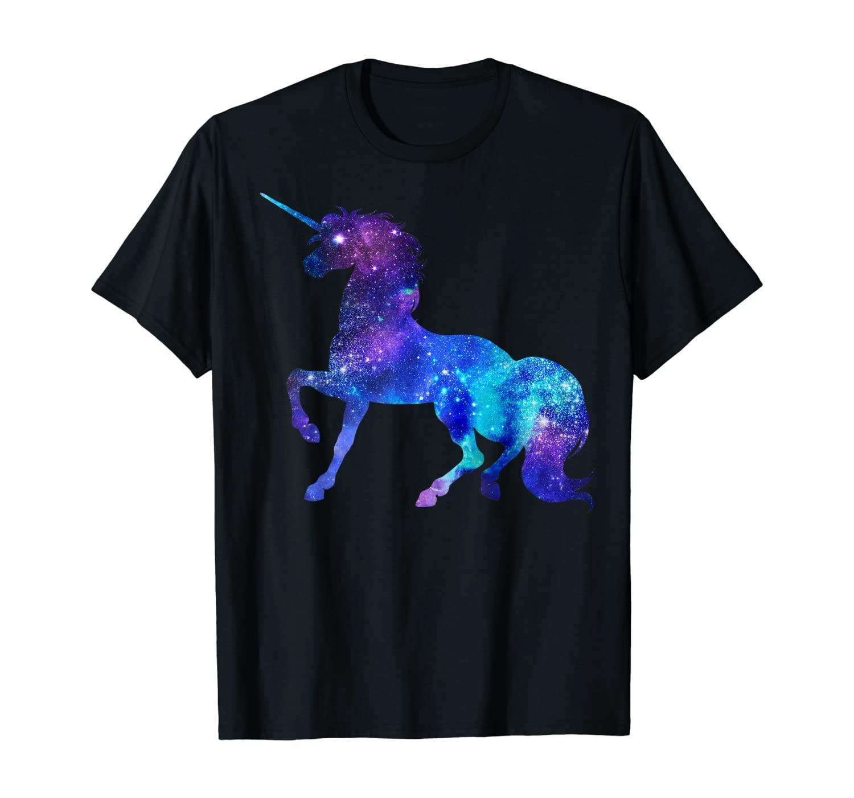 Unicorn Galaxy Squad T shirt Girls Funny Galactic Space Gift