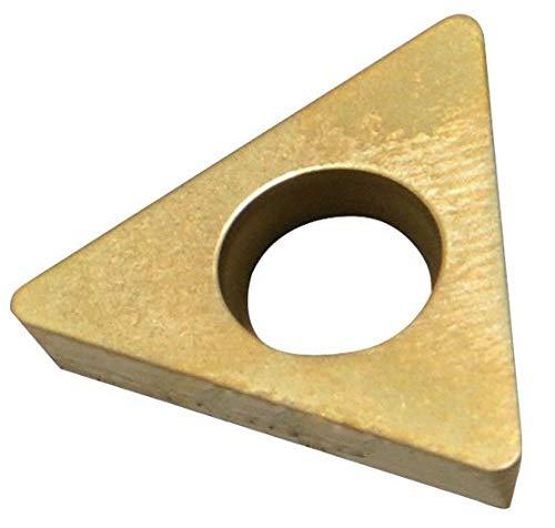 HHIP 6062-0215 TDEX 21.5 TiN Coated C-5 Carbide Insert, 1/4