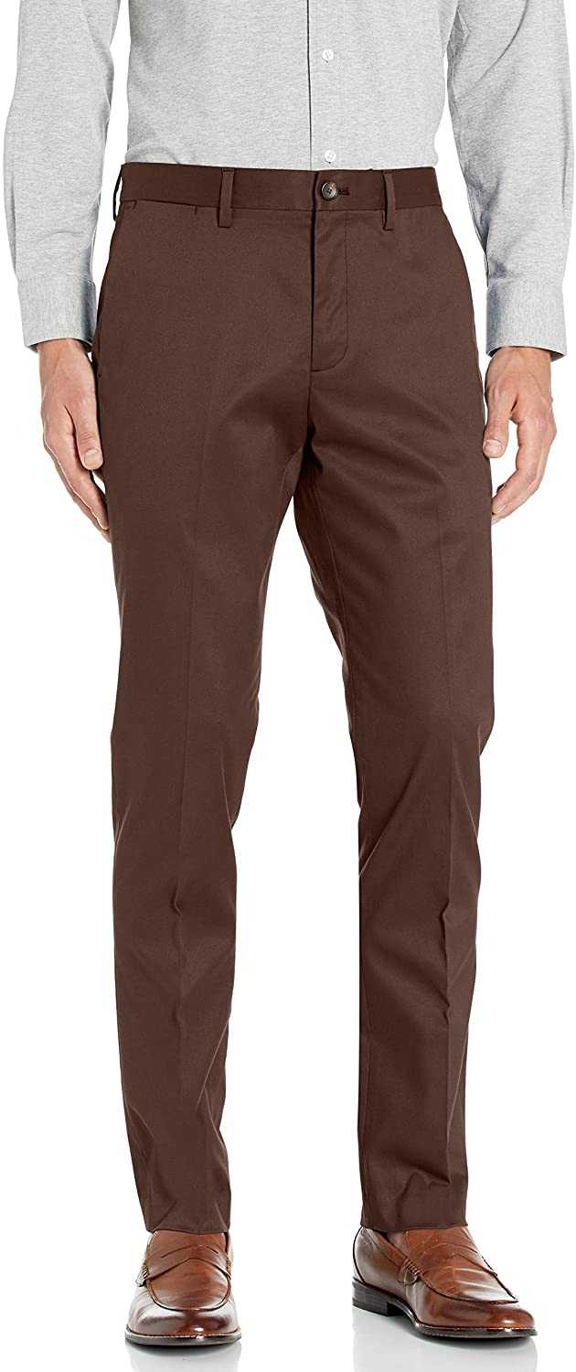 DHgate Brand - Buttoned Down Men's Slim Fit Non-Iron Dress Chino Pant