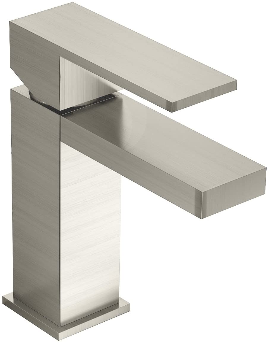 Symmons Duro One-Handle Single Hole Bathroom Faucet, Satin Nickel (SLS-3610-STN-1.5)