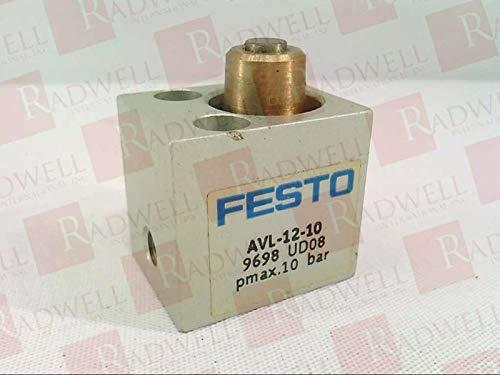 FESTO ELECTRIC AVL-12-10 Pneumatic Cylinder Short Stroke 10BAR