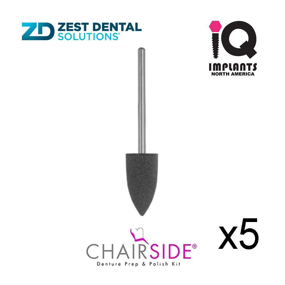Zest CHAIRSIDE Genuine Polisher Tip, 5-Pack