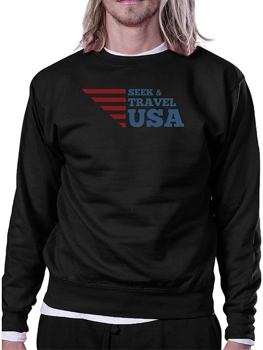 Seek and Travel USA Independence Day Sweatshirt