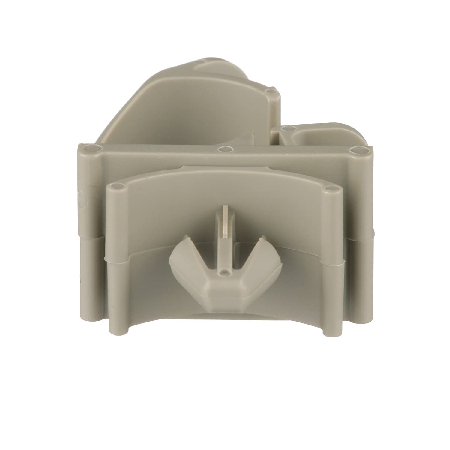 Panduit LWC25-H25-C Latching Wire Clip, Push Barb, Nylon 6.6, 0.25-Inch Bundle, Natural (100-Pack)