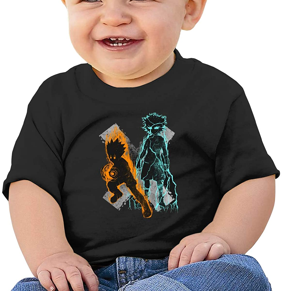 Colorful Short-Sleeved Comfortable and Refreshing Shirt Hunter X Hunter Baby T-Shirt