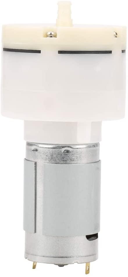 Akozon DC 12V Mini Small Low Noise Short Filling Time Air Vacuum Suction Pump