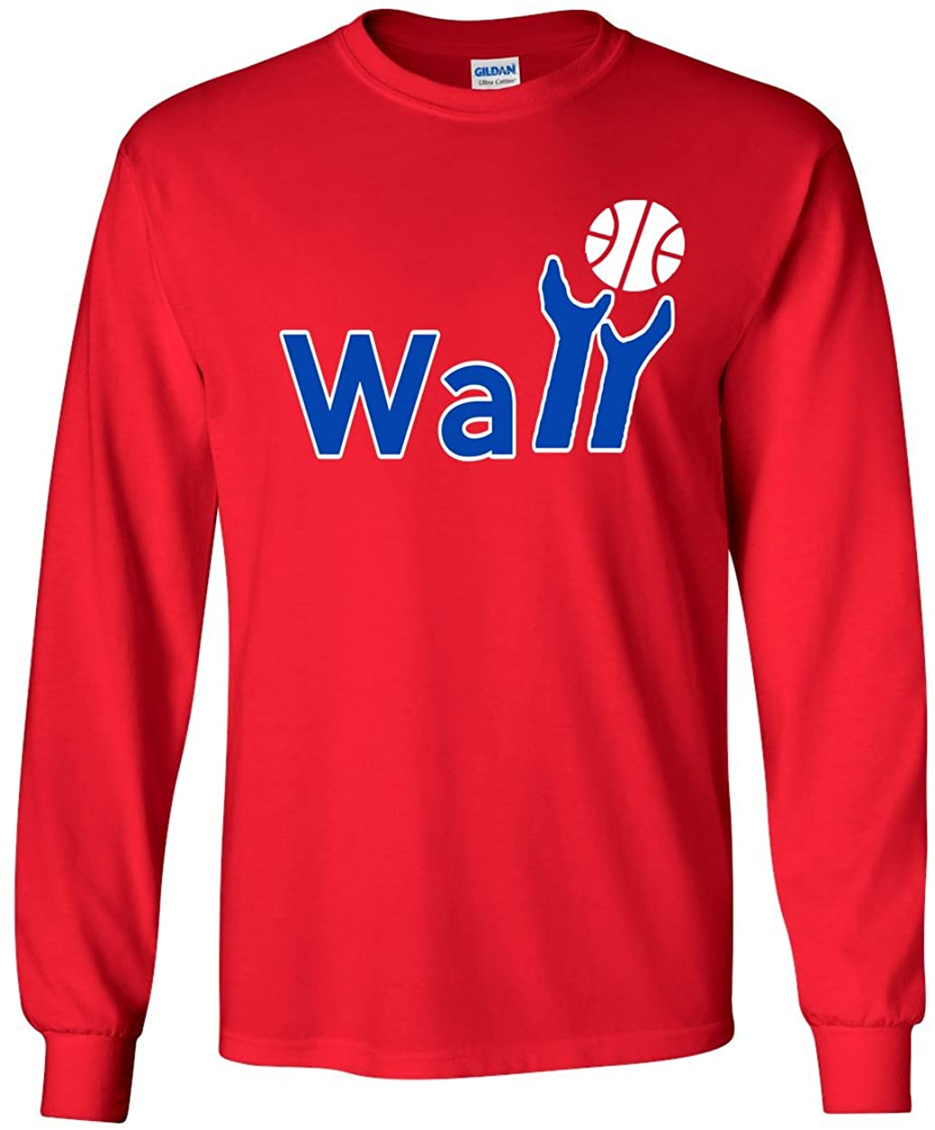 The Silo Long Sleeve RED Washington Wall Logo T-Shirt