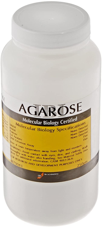 IBI Scientific IB70041 Molecular Biology Grade Agarose, 250gm