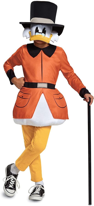 Duck Tales Scrooge McDuck Kids Costume by Disguise