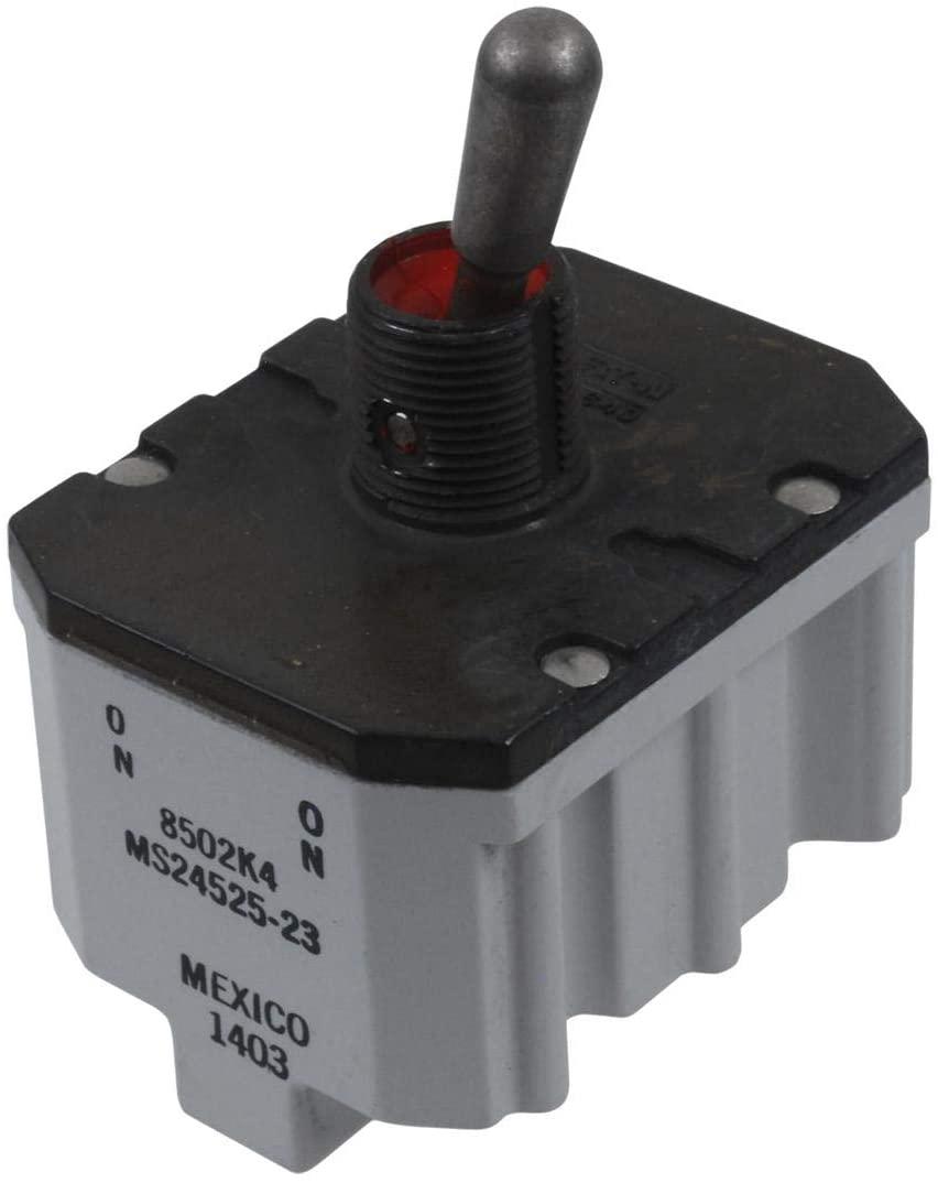 8502K4 - Toggle Switch, On-On, 4PST, Non Illuminated, 8502 Series, 20 A
