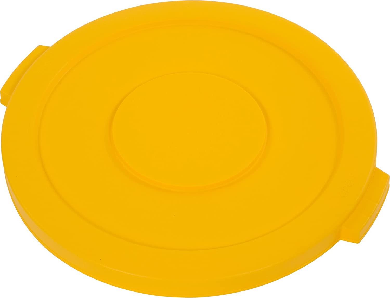 Carlisle 34102104 Bronco Polyethylene Round Lid, 20 x 2.13