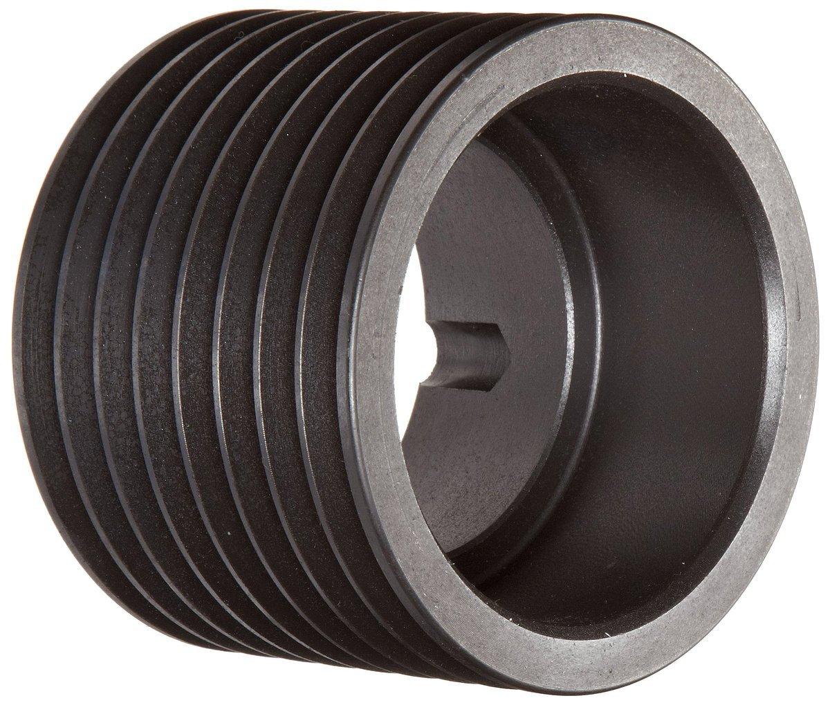 TL SPB212X8.3535 Ametric Metric 212 mm Outside Diameter, 8 Groove SPB/17 Dynamically Balanced Cast Iron V-Belt Pulley/Sheave,for 3535 Taper Lock Bushing, (Mfg Code 1-013)