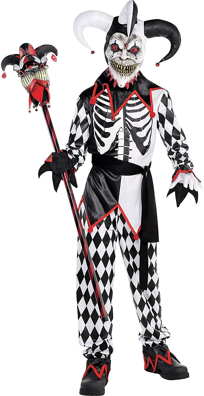 Amscan Sinister Jester Child Clown Costume