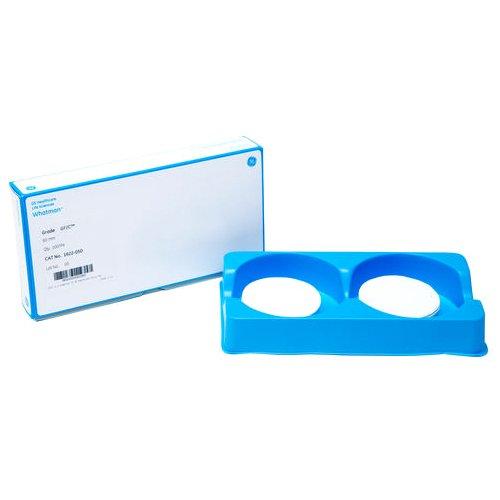 GE Bio-Sciences 1822-866 Glass Microfiber Papers Filter, Sheets, Binder Free, Grade GF/C, 8 Width x 10 Length (Pack of 100)