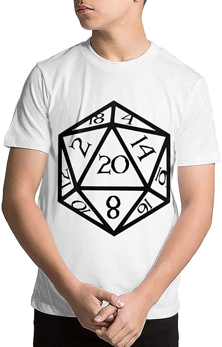 Youth Dungeons and Dragons Teenage Boys Teens Custom T-Shirt, Fashion Shirt for Boys and Girls White