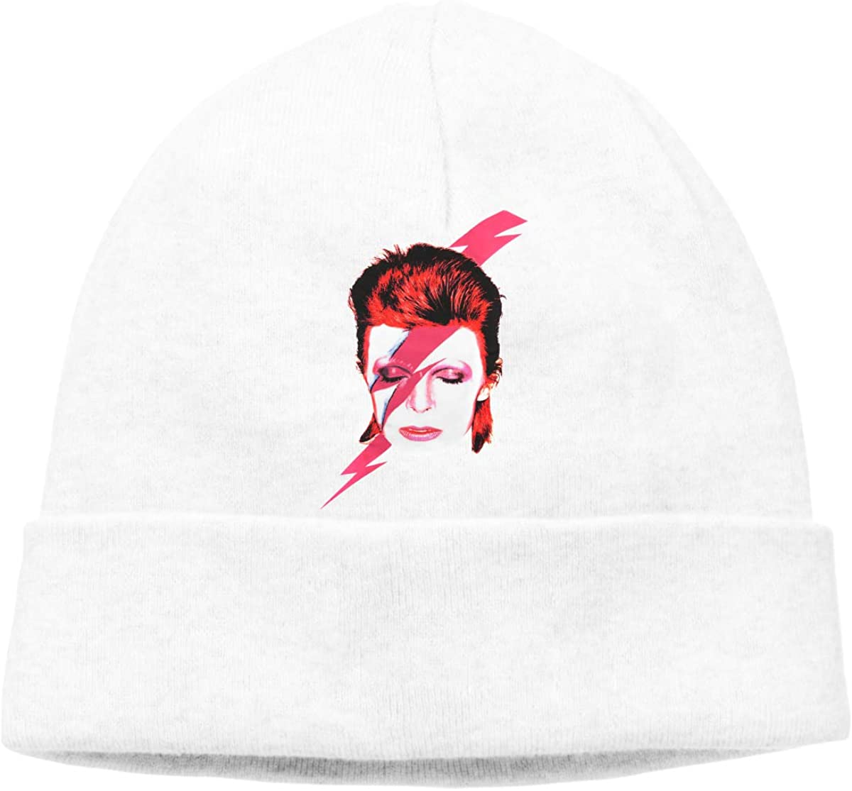 Not David Bowie Comfortable to Go Out Hedging Cap Hat Chapeau Headgear White