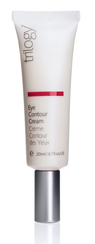 Trilogy Eye Contour Cream for Unisex, 0.67 Ounce