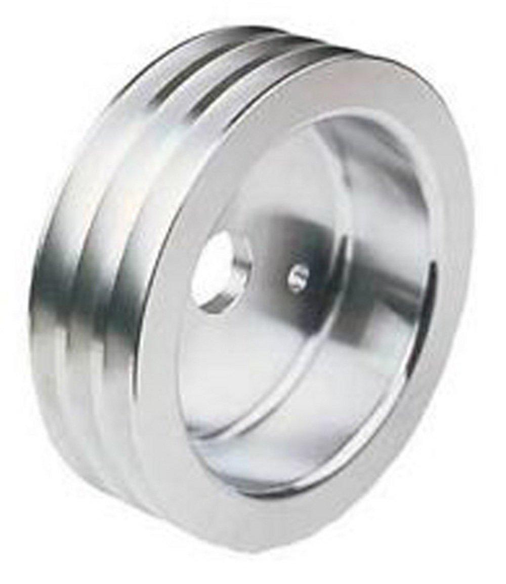 SPA 140X3 Ametric Metric Aluminum V Belt Pulley, for SPA Profile V-Belt, 3 Groove, 140 mm Pitch Diameter, (Mfg Code 1-033)