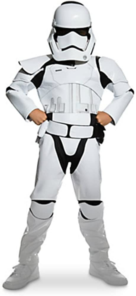 Disney Store Star Wars The Force Awakens Stormtrooper Costume (4) White