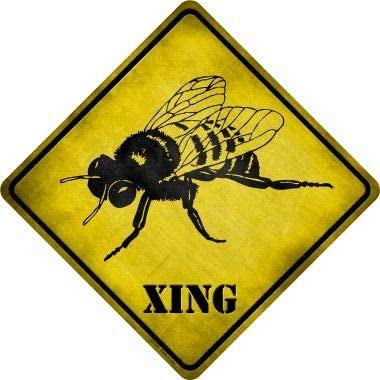Bargain World Bee Xing Novelty Crossing Sign (Sticky Notes)