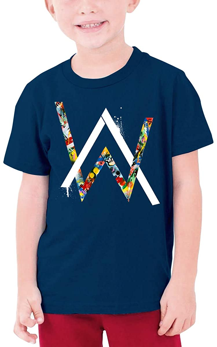 Youth Alan Walker Logo Teen Boys Teens Custom T-Shirt, Fashion Shirt for Boys and Girls