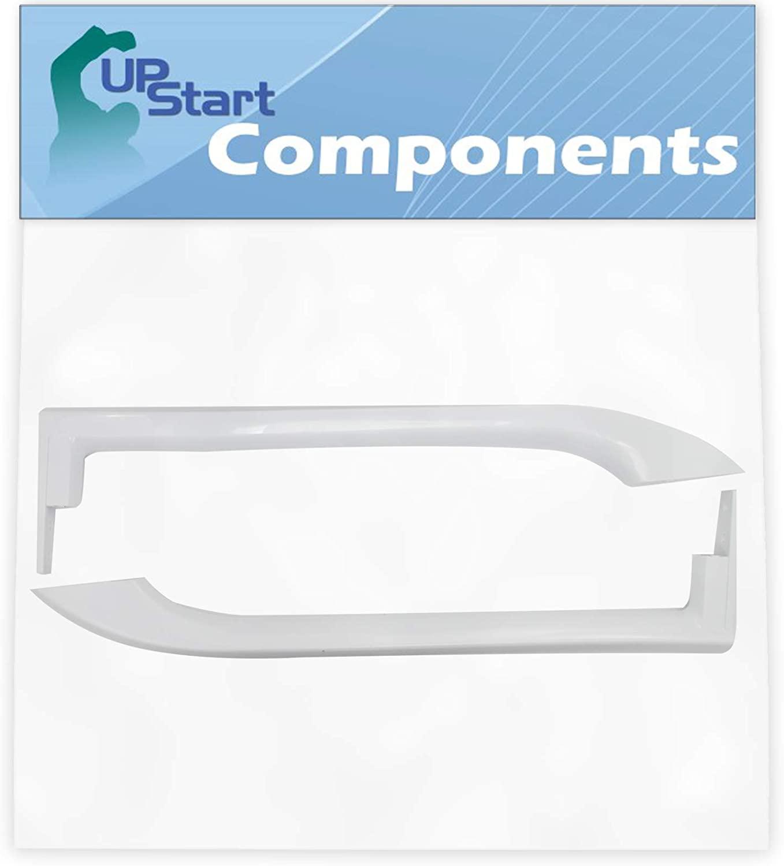 5304486359 Refrigerator Door Handles Set Replacement for Frigidaire FFHT1826LW2 Refrigerator - Compatible with 5304486359 White Door Handles - UpStart Components Brand