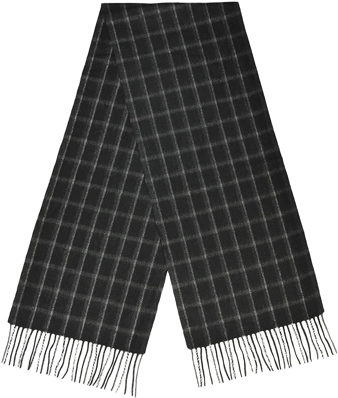 Men's 100% Premium Cashmere Scarf   Soft, Warm, Elegant, Luxury by LEON (603)